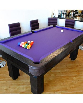 PurpleClothRusticPoolTable
