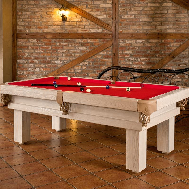 Rustic Pool Or Snooker Table