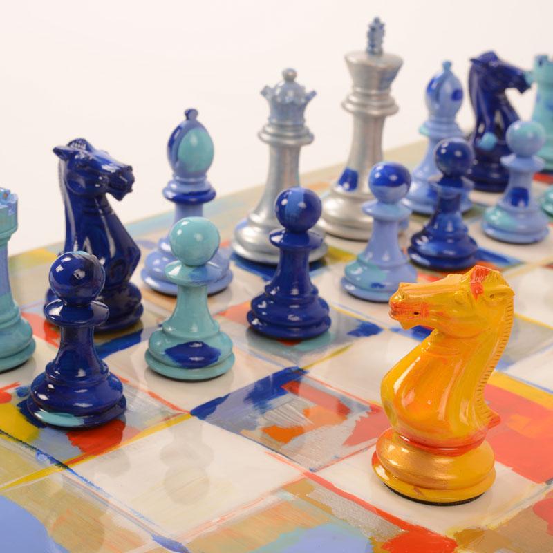 Art Chess Luxury Pool Tables