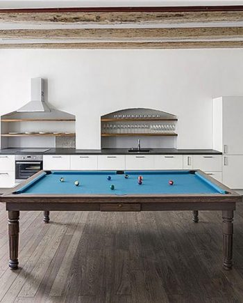 Modern Luxury Pool Table in Solid Oak