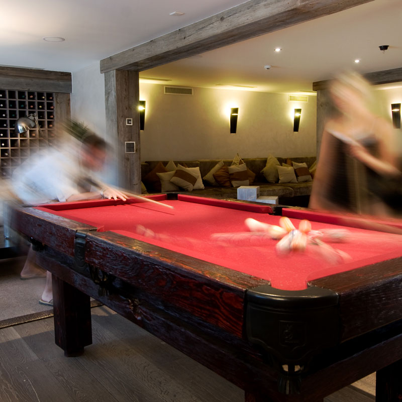 Rustic Pool Or Snooker Table Luxury Pool Tables - Luxury billiards table