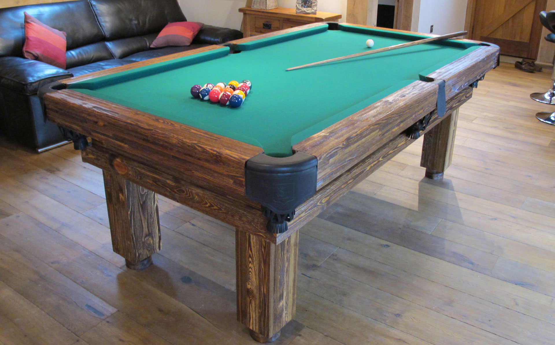 Rustic pool or snooker table luxury pool tables for 10 snooker table