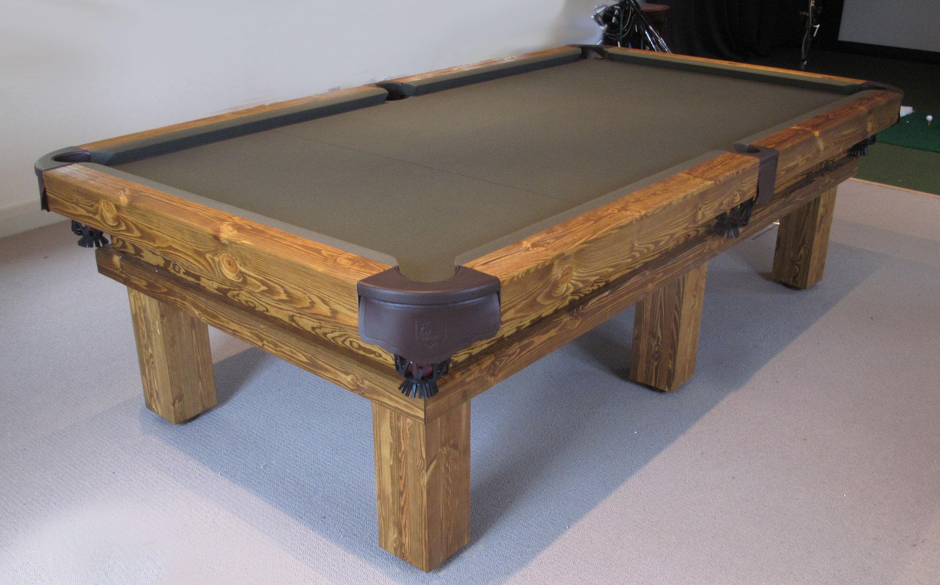Rustic Pool Or Snooker Table Luxury Pool Tables