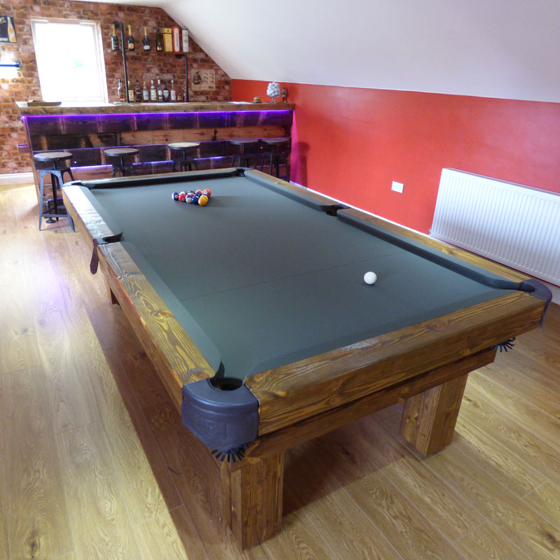 Rustic Pool Or Snooker Table Luxury Pool Tables Pool