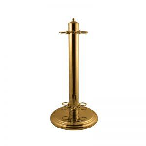 Brass6CueFloorStand