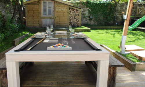 OutdoorPoolDiningTable