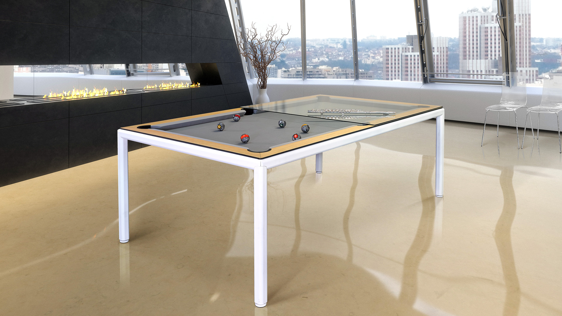 Slimline Pool Table Luxury Pool Tables