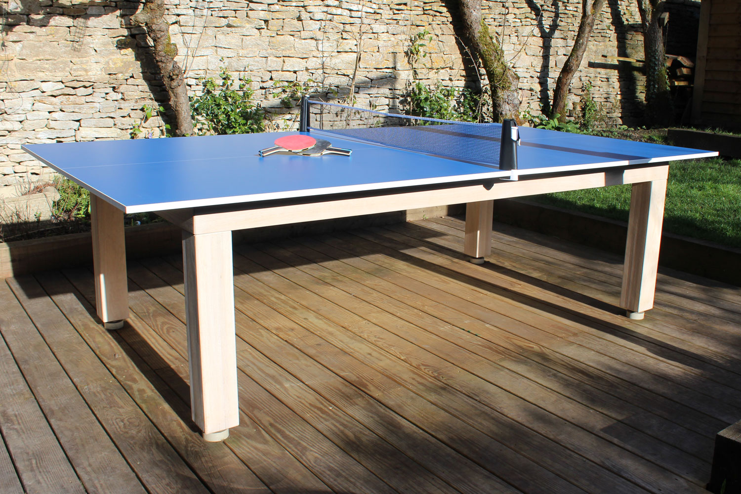 Combined pool table table tennis table luxury pool tables for Biggest outdoor pool