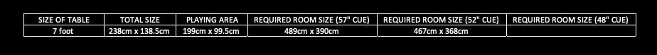 ElegantPoolTable_SizeGuide