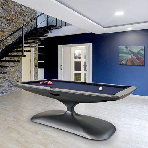 Elegant_PoolDining_Table_SilverFrame_BlueCloth-2
