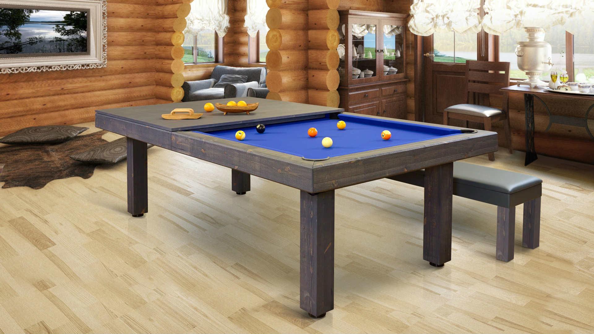 8ft farmhouse american pool table  luxury pool tables